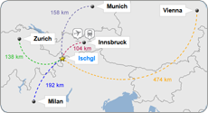 Directions to Ischgl